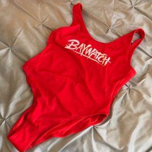 Baywatch One Piece Swimsuit